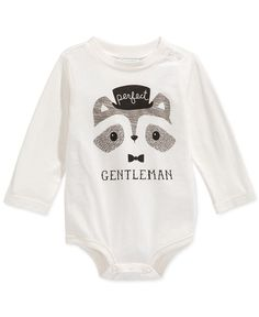 First Impressions Baby Boys' Perfect Gentleman Bodysuit, Only at Macy's