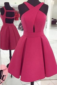 Cute Homecoming Dresses #CuteHomecomingDresses, Prom Dress Short #PromDressShort, Cheap Prom Dress #CheapPromDress, Prom Dresses 2019 #PromDresses2019, A-Line Homecoming Dresses #ALineHomecomingDresses, Sleeveless Prom Dress #SleevelessPromDress