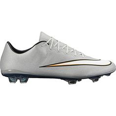 nike mercurial vapor X CR FG mens football boots 684860 soccer cleats firm ground (uk 9.5 us 10.5 eu 44.5, metallic silver white hyper turquoise bright 003) - Brought to you by Avarsha.com