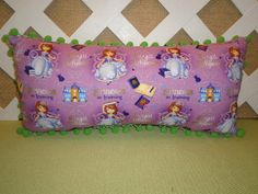 Sophia the First Pillow in Light Purple with by JRsPillowsandBags