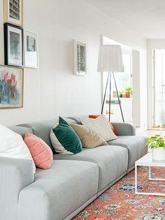 Binnenkijken in een mix van Scandinavisch en Mid-century Modern / www.woonblog.be