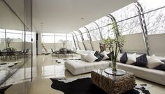 Cool Penthouse in London by Studio RHE