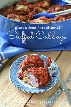 Extensive pictorial instructions for Jewish Stuffed Cabbage from www.everydaymaven.com #paleo