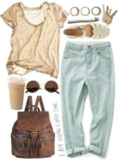 we need to chill by geentayag featuring gold sunglasses Different shoes though, maybe low cut white converse Look Fashion, Trendy Fashion, Plus Size Fashion, Fashion Outfits, Womens Fashion, Earthy Fashion, Runway Fashion, Korean Fashion, Fashion Trends