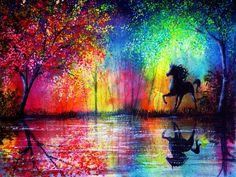 Радужные рисунки #радуга