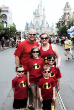 DIY disney shirts haha Sis look at these! might be good for our group/halloween Matching Disney Shirts, Disney Shirts For Family, Disney Family, Family Shirts, Matching Clothes, Disneyland Vacation, Walt Disney World Vacations, Disney Trips, Disney Surprise