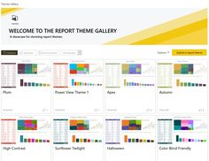 Microsoft announced the launch of the new theme gallery in the Power BI Community which will act as a space to share and find new themes for use in Power BI reports. Themes is a new feature available in Power BI Desktop as a preview and it allows users to pick colors to use …