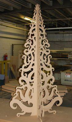 MDF árbol de navidad