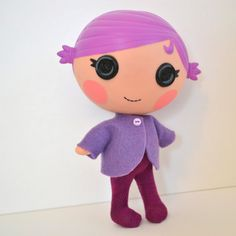 Lalaloopsy Littles Doll Rainbow Cozy Cardi and by PistachioLoopsy, $12.00