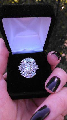 Gorgeous 14k Gold  2.50ct-3ct Diamond Wedding  by MADAMECKERSON