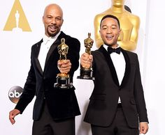 """Oscars 2015 the Big Winners.... Achievement in Music Written for Motion Pictures (Original Song) """"Glory,"""" from Selma, Music and Lyric by John Stephens and Lonnie Lynn"""
