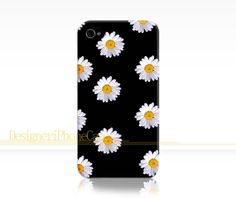 Little Daisy iphone 4s case Daisy iPhone 4 case Daisy Flowers iPhone 4s case Daisy Flowers iPhone 4 case Image Wrapped Around the Edges by DesigneriPhoneCase, $14.99