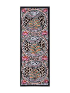 Arts And Crafts Stores Nyc Madhubani Art, Madhubani Painting, Mural Painting, Fabric Painting, Rangoli Border Designs, Folk Art Flowers, Mandala Art Lesson, Indian Folk Art, Indian Art Paintings