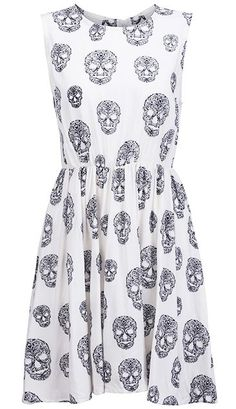 Skull dress!