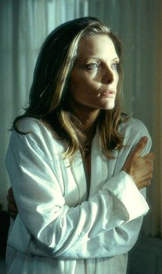 Michelle Pfeiffer as Claire Spencer in the movie What Lies Beneath.