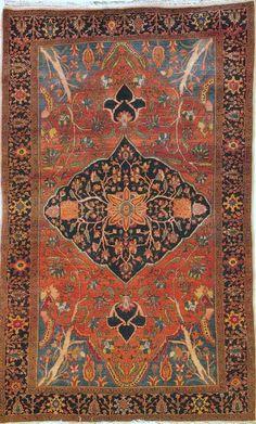 Persian Fereghan rug
