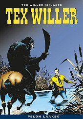 Kansi: Tex Willer -kirjasto 23 - Pelon laakso