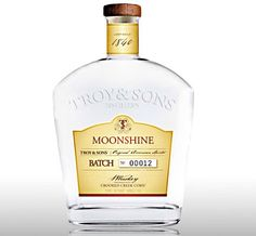 Will have to hide this from the boyz for sure!!!! Wouldn't want them sleeping in on Christmas morning..Artisanal Moonshine from Troy & Sons Distillers in Asheville, North Carolina offered by Bourbon & Boots today!