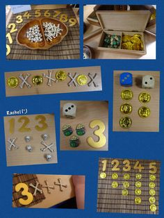 Pirate Math Fun (from Stimulating Learning With Rachel) Preschool Pirate Theme, Pirate Activities, Preschool Activities, Magic Treehouse, Pirate Day, Play Based Learning, Ocean Themes, Eyfs, Early Years Maths