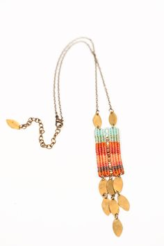 Luce Che Cade Necklace by AMiRAjewelry on Etsy, $82.00