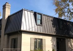 Metal Mansard Roof Mansard Roof In 2018 Pinterest