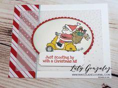 Painted Ladies Journal: So Santa Stampin Up Christmas Cards 2018, Painted Ladies, Mini Albums, Digital Scrapbooking, Stampin Up, Extended Play, Mini Scrapbooks