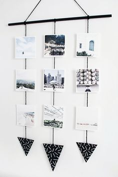Diy Wall Hanging Picture Frames - Diy Photo Wall Hanging Diy Photo Wall Photo Wall Hanging Diy Make These Pretty Functional Ribbon Hanging Frames Hanging Diy Hanging Frames Tutorial Ta. Diy Wall Art, Diy Wall Decor, Decor Crafts, Tumblr Wall Decor, Bedroom Decor, Design Bedroom, Bedroom Wall, Easy Crafts, Photo Wall Hanging