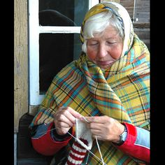 knitting in Lithuania
