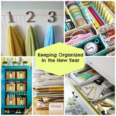 Tips and Tricks- Keeping Organized in the New Year