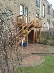 Garden Designers Edinburgh  Garden Construction Co | The Garden  Construction Company  Decking Edinburgh Landscaping