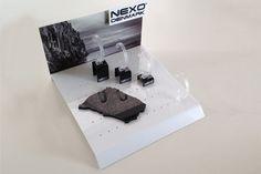 NEXO DISKDISPLAY Vi er leveringsdygtige i alt indenfor akryldisplays, salgsdisplays, butiksdisplays, POS løsninger, gulvdisplays, gulvdumpere, diskdisplays, shop-in-shop løsninger og meget mere.