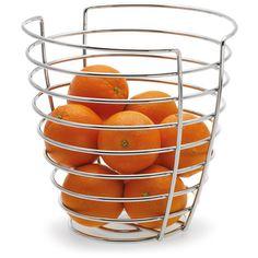 La corbeille à fruits Wires de Blomus est un must de l'esthétique. Toute chromée, sobre et élégante la corbeille à fruits Wires. A découvrir sur www.rennandesign.com
