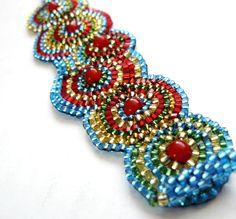 Colours de luxe  beadweaving