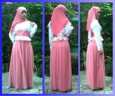Gamis Modern Shalyra Princess Maxi Dress mix brokat | kaoskeren.net