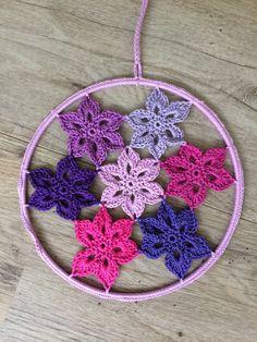Raamhanger (mandela) gehaakt. Mandela crochet