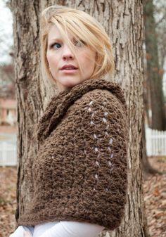 The Chunky Cowl Scarf Shawl Hood