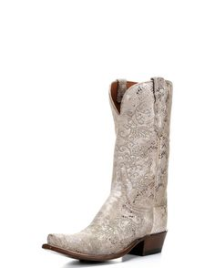 OMG LOVE: Country Outfitters Women's Stone Python Print S5 Toe Boot