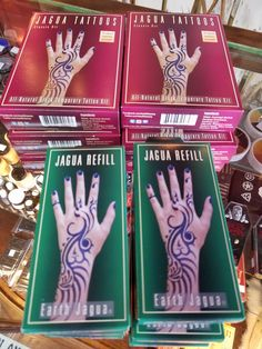 Black Jagua is like black henna, without the pesky chemical burns, and it's back in stock!