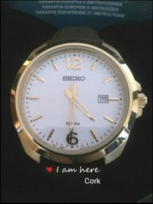 Brand New Seiko Classic Men's Watch Dress 100m Cork City, 100m, Watch Faces, Classic Man, Stainless Steel Watch, Seiko, Calf Leather, Jewelry Stores, Watches For Men