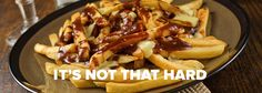 It's time for some real talk, America. | Why Can't America Get Poutine Right?
