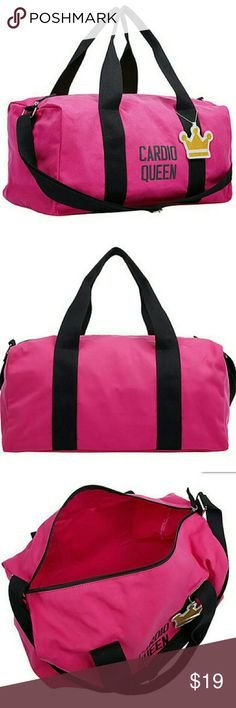 New Cardio Queen Collapsible Duffel Bag New Cardio Queen Collapsible Duffel Bag. Queen's Crown Charm. Bags