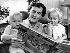 Astrid Anna Emilia Lindgren (née Ericsson) ( 14 November 1907 – 28 January 2002) was a Swedish author and screenwriter. She is the world's 18th most translated author and has sold roughly 145 million copies worldwide. She is best known for the Pippi Longstocking, Karlsson-on-the-Roof and the Six Bullerby Children book series. Kids Reading Books, Kids Book Series, Pippi Longstocking, Writers And Poets, Chant, Second Child, Screenwriting, Film, Childrens Books