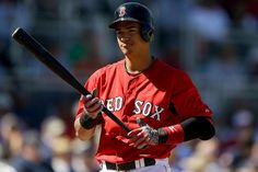 Even though it kills me to do this because he is a Red Sox player I can't deny that he is attractive!!!