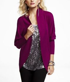 Love this cocoon sweater too! and I love this color!