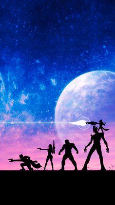 Guardiões da galaxia - vingadores cosmicos