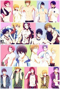 free! Rin, Nagisa, Makoto, Haruka and Rei **-**