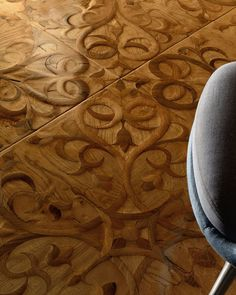 Antique and custom-made wooden floors