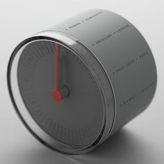 World Clock by 11+ rolls to change time zones