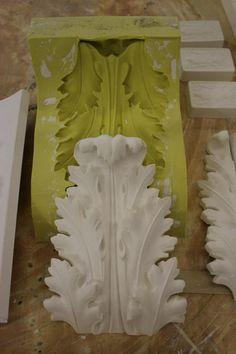 Call ARM Fibrous Plaster Mouldings Ltd in Alton Plaster Crafts, Plaster Art, Plaster Molds, Plaster Mouldings, Moldings, Painted Furniture, Diy Furniture, Plaster Sculpture, Diy Molding
