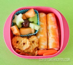 Creating fun lunches the kids will love (and actually eat).  Cupcake liners and a few cookie cutters and voila! #lunchbox